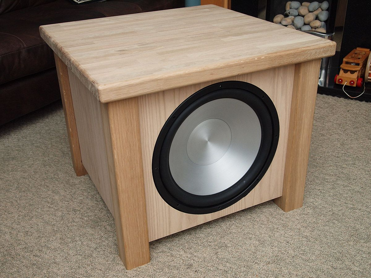 Küchenradio Selbstbau Subwoofer End Teable Selfmade Speakers Pinterest