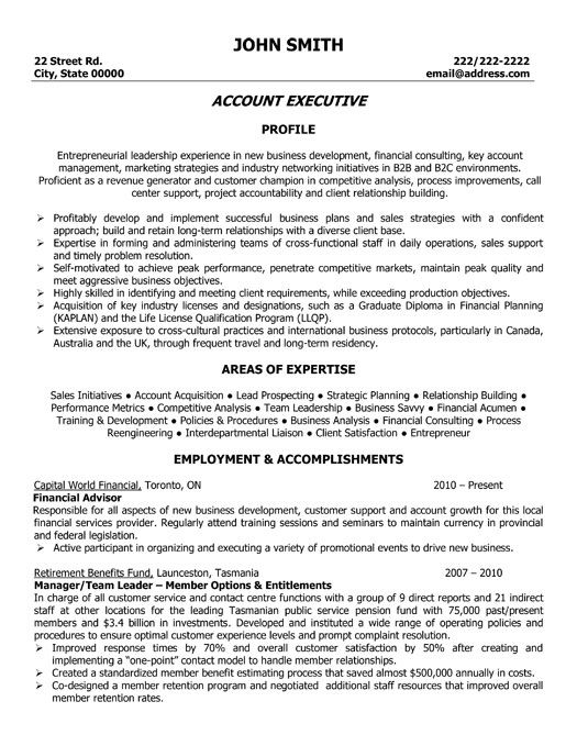 Click Here to Download this Account Executive Resume Template - construction resume templates