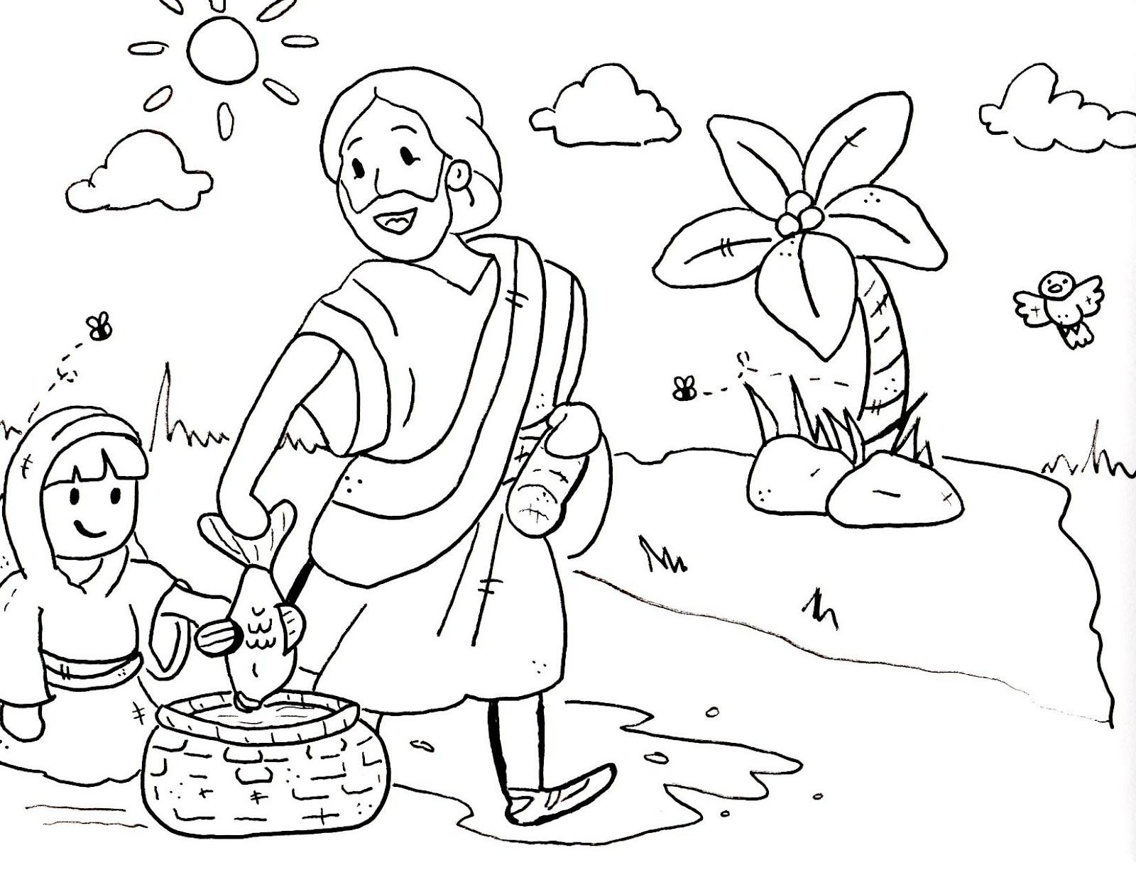 Free Printable Coloring Pages For Vacation Bible School