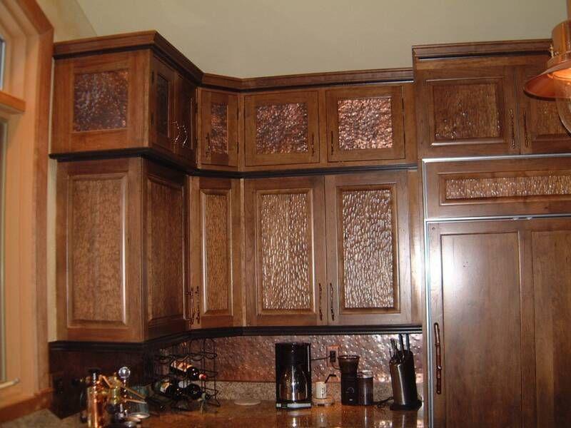 cabinet door insert idea