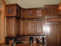 cabinet door insert idea