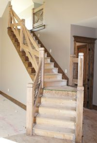 Stair railing in Draper Utah | Basement | Pinterest ...