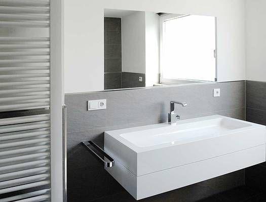 Badezimmer Fliesen Weiß Anthrazit Badezimmer Bad Pinterest - badezimmer anthrazit weis fliesen