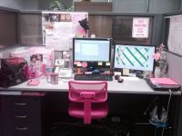 Desk Decorating Ideas Workspace Cute Cubicle Decorating ...