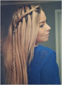 Picture of Cute Braid Ideas, Long Hairstyles for Straight ...