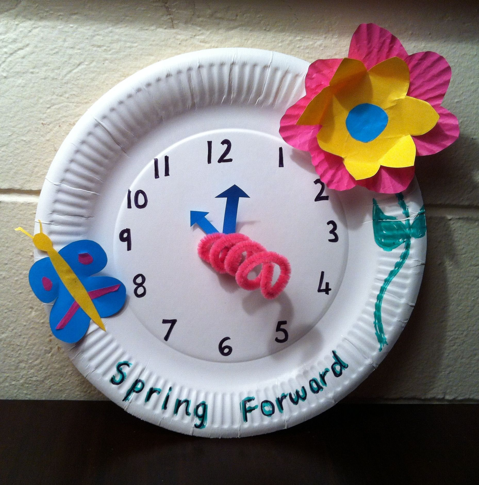 Craft clock faces craft clock faces craft clock faces spring forward craft daylight savings kicked