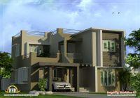 Modern Duplex House Plans | Modern Duplex Home design ...