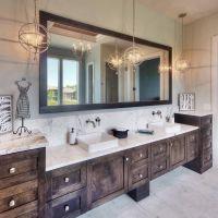 24 Rustic Glam Master Bathroom Ideas | Master bathrooms ...