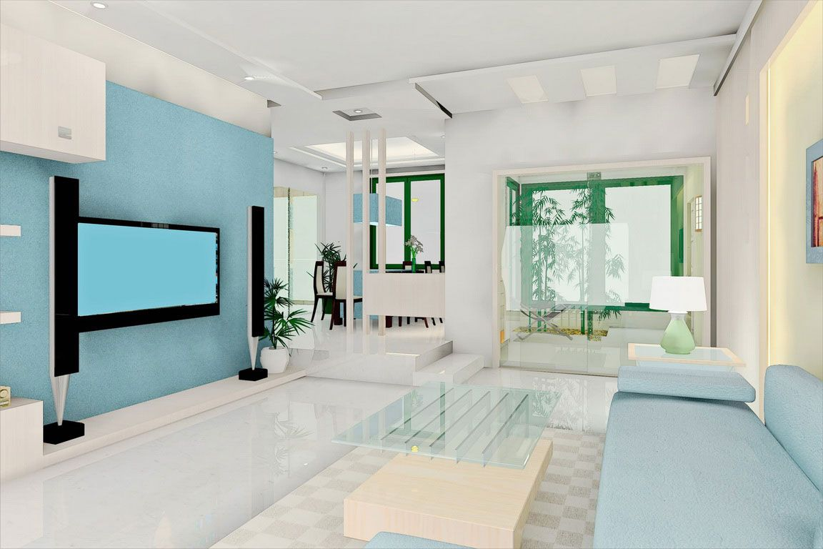 Blue Interior Design Calming Blues Enhance This Space An Interior Design
