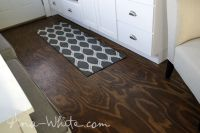 Video:How to Stain Plywood Floor Subfloor Flooring: Tiny ...