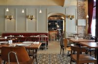 interior design for a french cafe | Ideas for Creperie ...