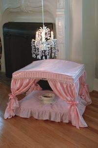 Canopy Dog Bed - I'm thinking that Coco needs this bed and ...