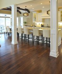 distressed hickory hardwood flooring ~like this floor ...