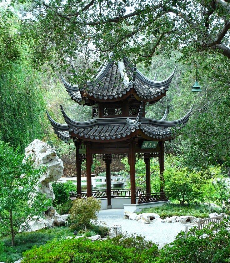 Chinese Garden at The Huntington Museum \ Botanical Gardens - chinese garden design