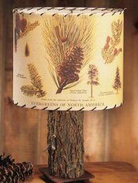 Pine Cone Lamp Shade - Whispering Pines Catalog | More ...