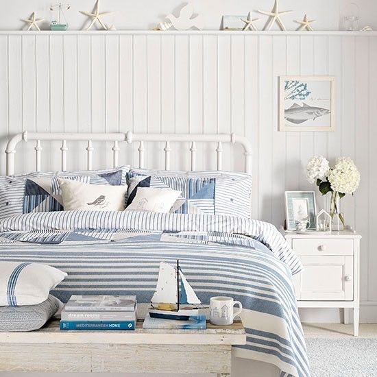 Beach themed bedrooms Beach huts, Bedrooms and Beach - beach themed bedrooms