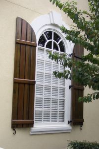 Board and Batten Exterior Shutters | Cross Creek Home ...