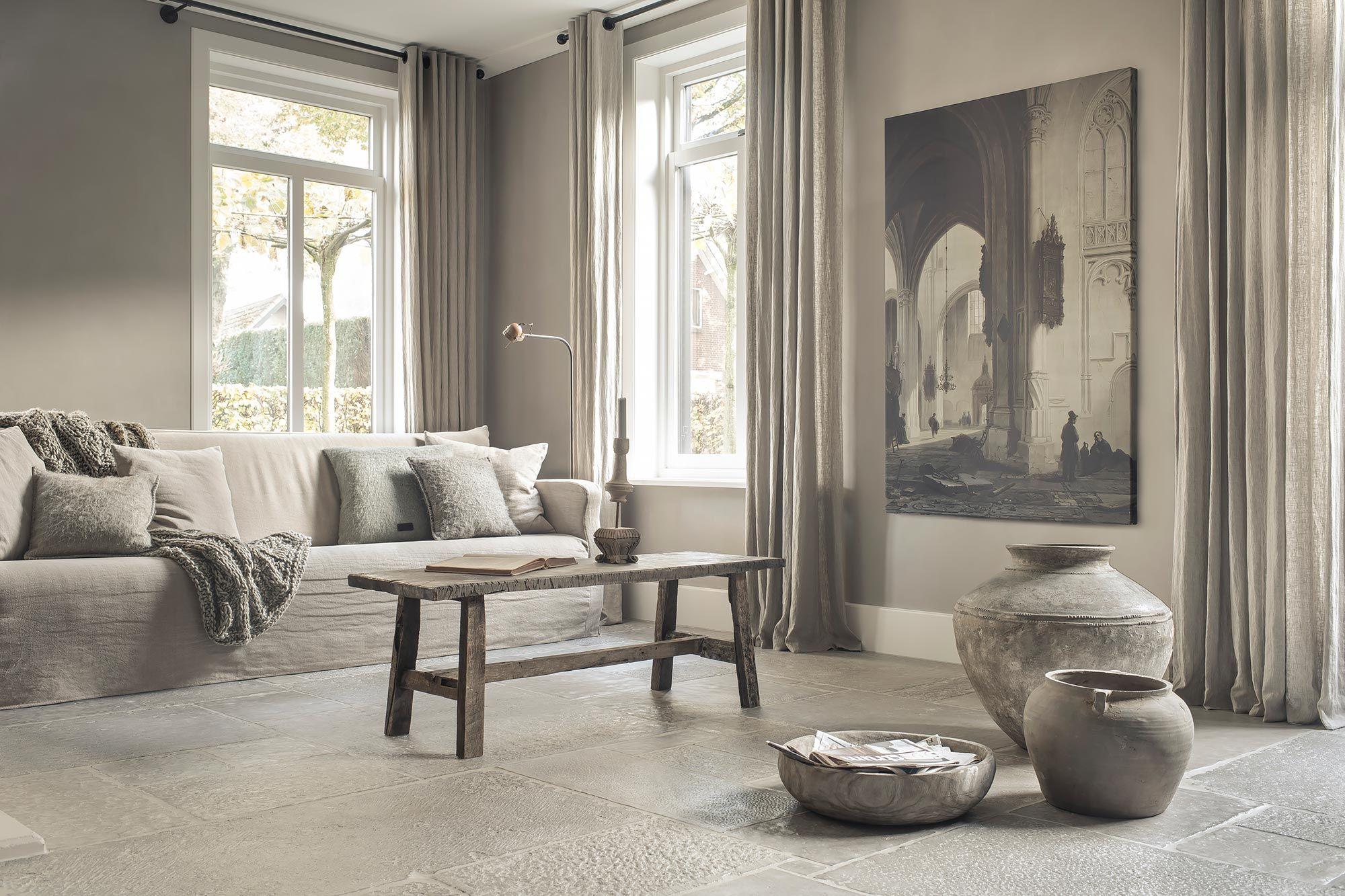 Landelijk Romantisch Interieur : Landelijk romantisch woonkamer mooie mix van stijlen landelijke