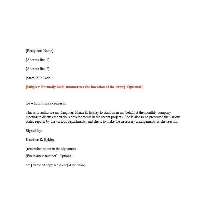 Authorization Letter 02 eduardo tiangco Pinterest Letters - authorization letters sample