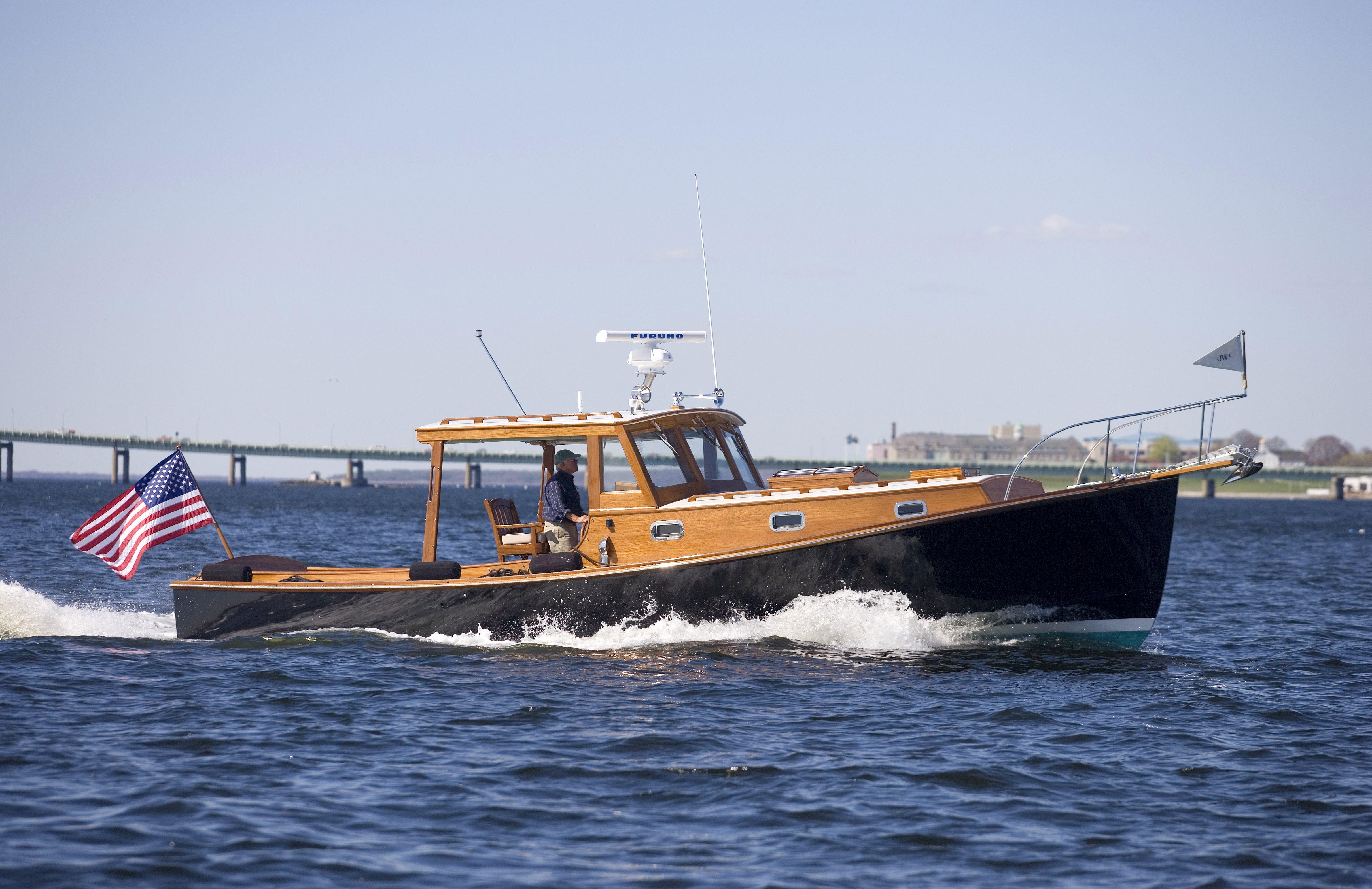 The stanley 36 john williams boat company
