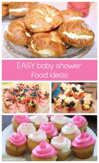 Love these easy baby shower food ideas! | Favorite Pins ...