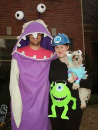 Family Monsters Inc Costumes including Pregnant Mike ...