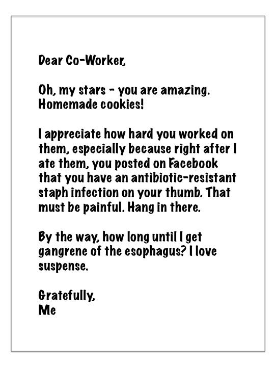 how to write a thank you notewith hilarious samples at the end - ending thank you letters