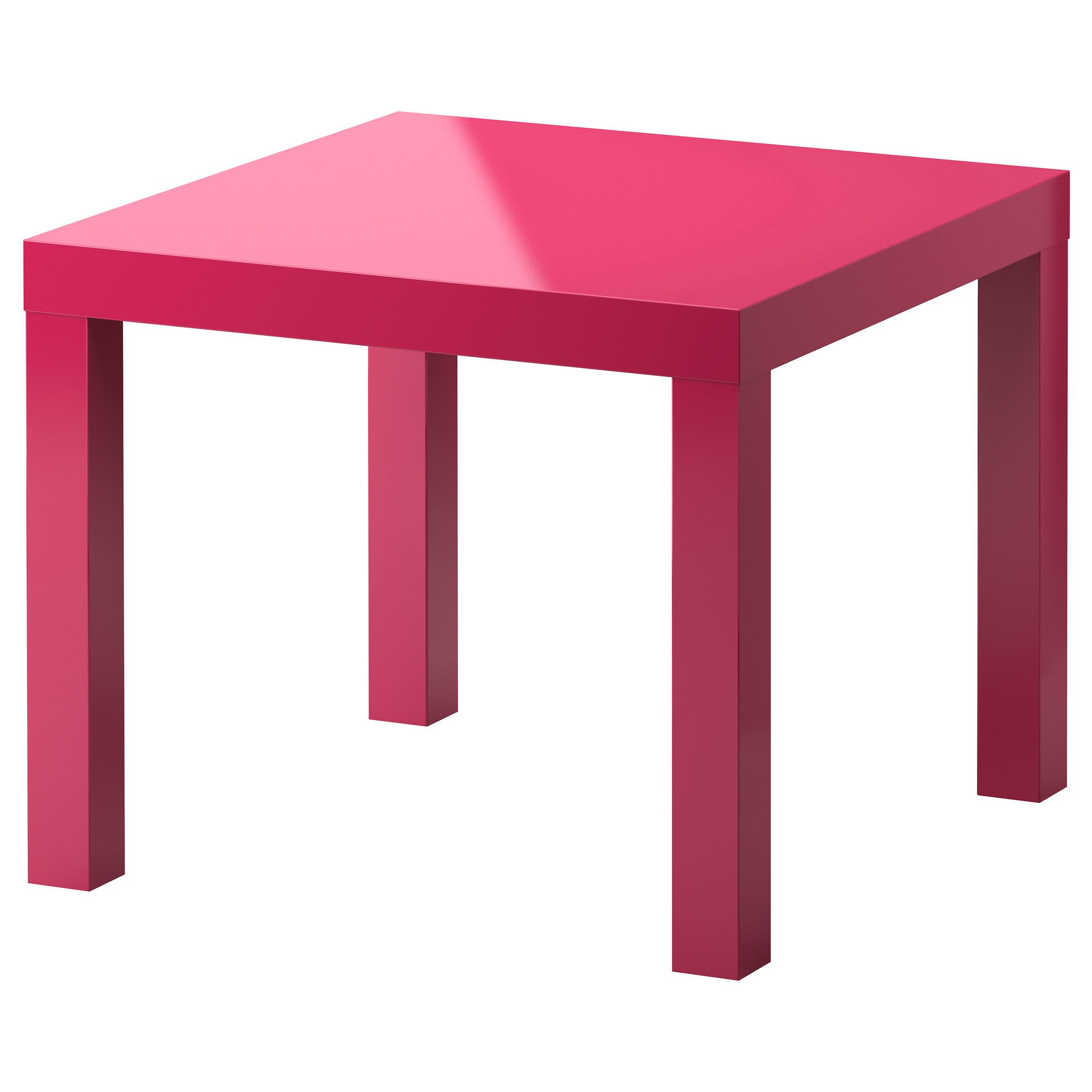 Lack Tafel Ikea Lack Side Table High Gloss Pink 21 5 8x21 5 8 Quot Ikea