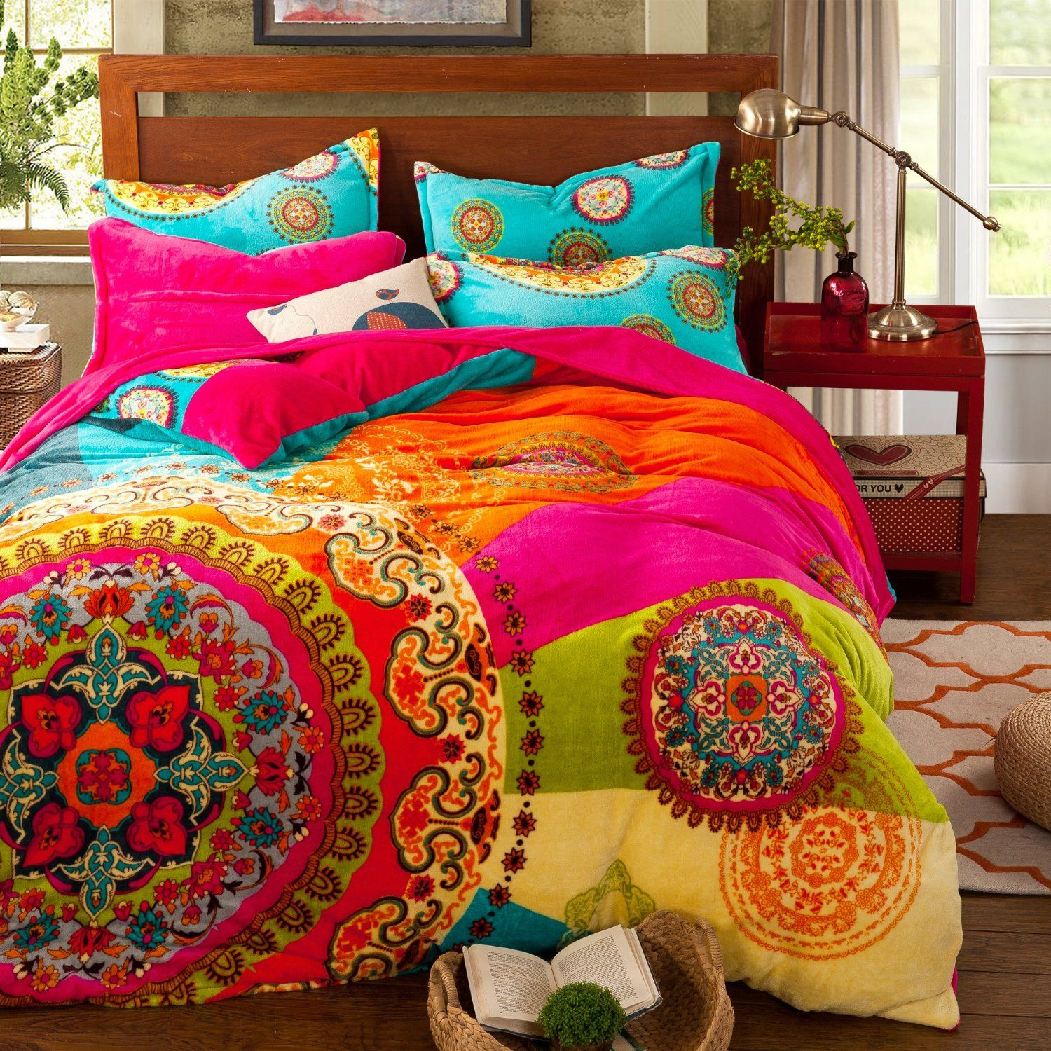 Bohemian Bettwäsche Amazon Paisley Bohemian Bedding For Adult T96 Boho