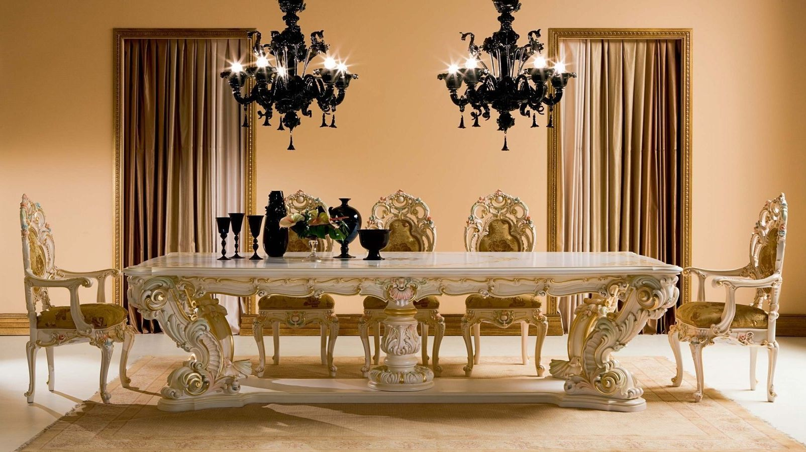 Luxurious Dining Rooms Dining Room Luxury Dining Table Design For Priceless
