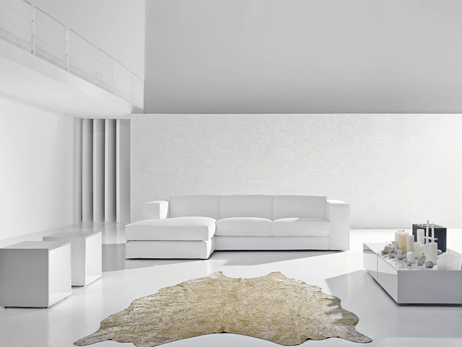 Divano Collection By Flores Design Nationwide Delivery Buy Now - Divano Pelle Bianco