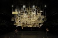 Recycled Windows! Chiharu Shiota - stage design at New ...