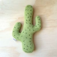 Knitted Cactus Cushion
