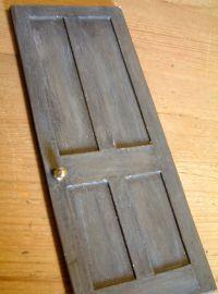 """mini cardboard door love it! brilliant """"The mock door has ..."""