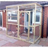 Bespoke Outdoor Cat Run, Cat Enclosure, Cat Pen | Pet ...