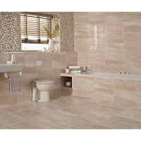 Wickes Newton Beige Gloss Ceramic Wall Tile 248x498mm ...