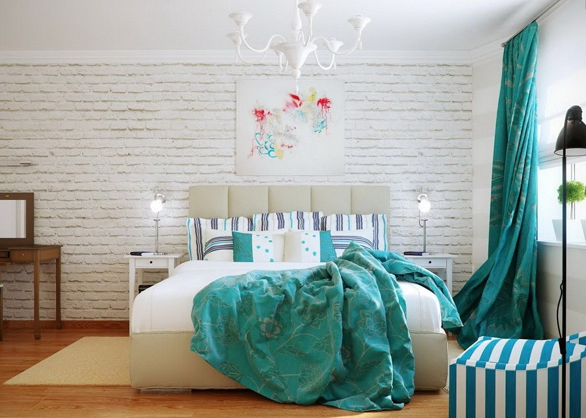 Image result for teal white and grey bedroom