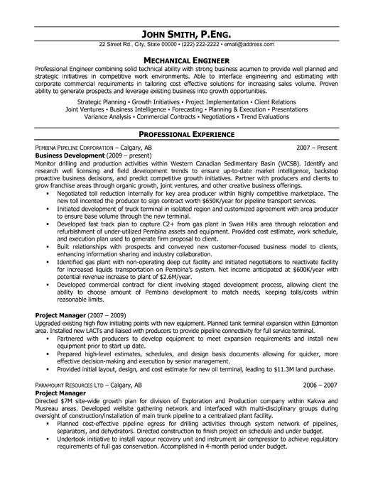 Click Here to Download this Project Manager Resume Template! http - biomedical engineer resume