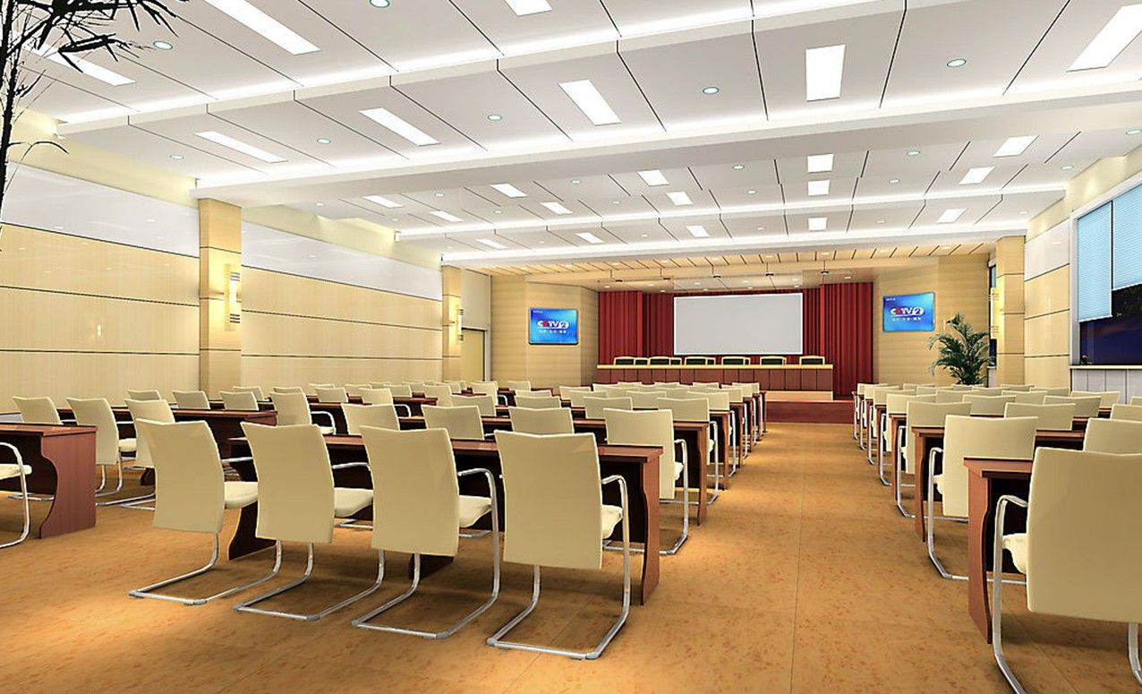 Conference Room Decorating Pale Yellow Conference Room Design Training Teaching