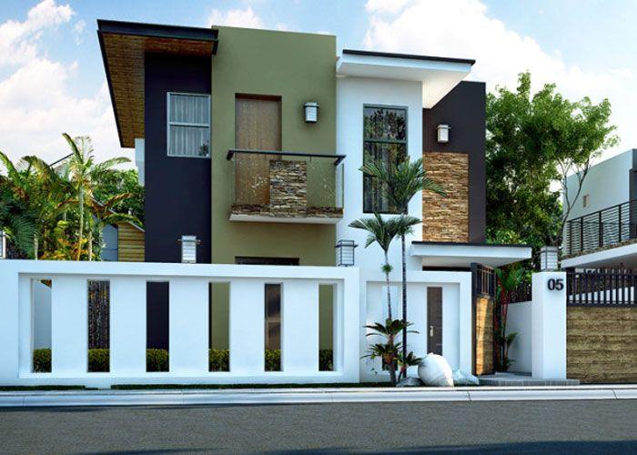 Modern House Designs Beds 4 Baths 2 Floor Area 93 sqm Lot - modern small house design