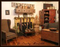 Home of Doreen Piechota | Primitive Livingroom | Pinterest ...