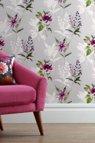 Buy Vibrant Floral Paste The Wall Wallpaper from the Next ...