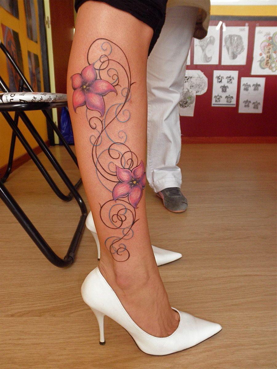 Female arabesque tattoo by stephcand deviantart com on deviantart