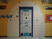 Classroom Door for Winter...I did a Polar Bear, Polar Bear ...