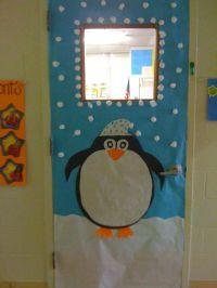 winter classroom door decoration ideas