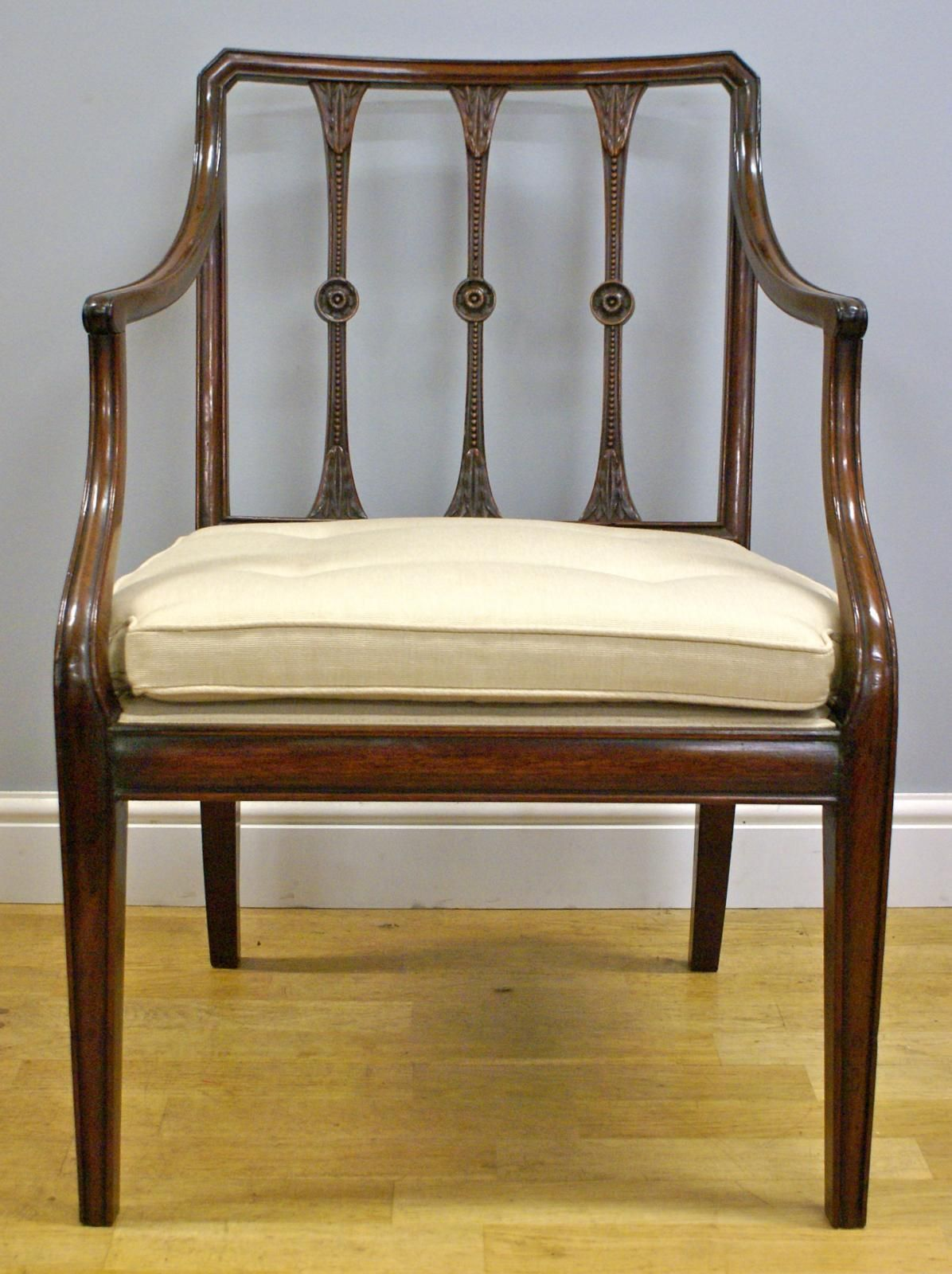 Looking For Chairs A Hepplewhite Period Cuban Mahogany Arm Chair Looking