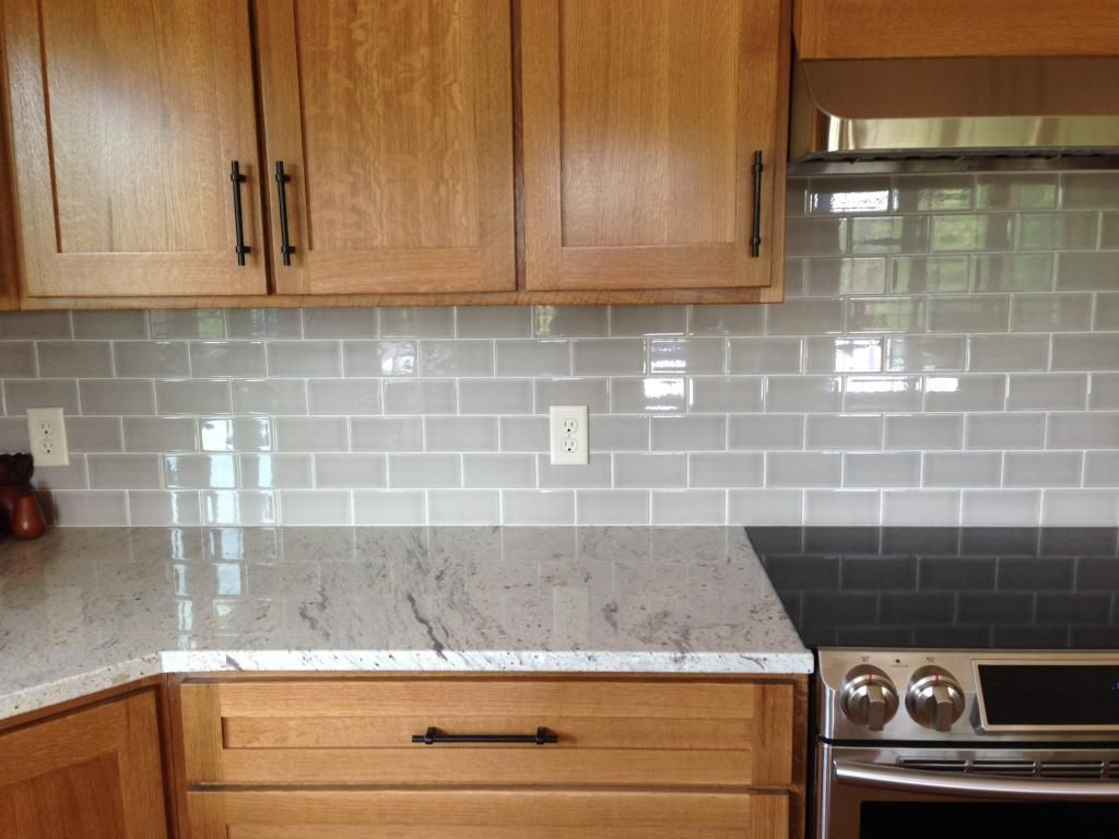 Oak Cabinets Backsplash Photo Img 2399 Zps68a3e642 Jpg River White Granite Allen