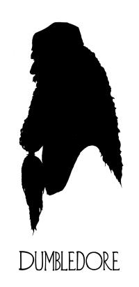 Dumbledore silhouette | Burning inspirations | Pinterest ...