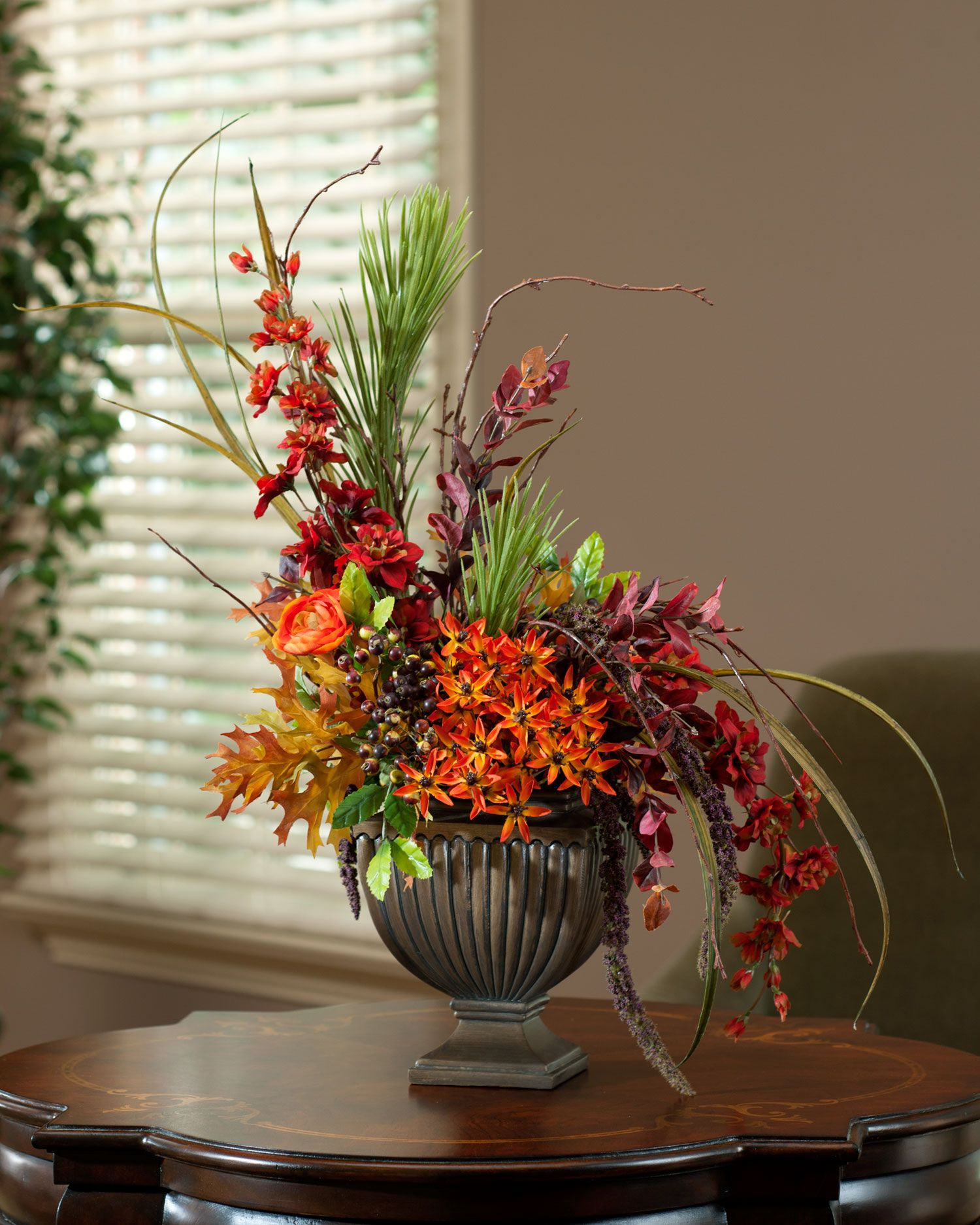 Fall Silk Floral Arrangements Designer 39s Delight Silk Flowers Fall Collection For All