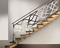 Wrought Iron Modern Stair Railings  | Pinteres